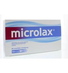 Laxeermiddel Microlax Klysma flacon 5 ml 50 stuks kopen