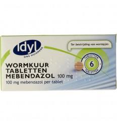 Maag Idyl Wormkuurtabletten mebendazol 100 mg 6 tabletten kopen