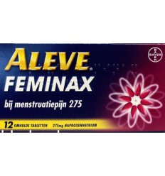 Aleve Aleve feminax 12 tabletten | Superfoodstore.nl