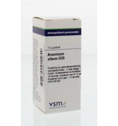 Artikel 4 enkelvoudig VSM Arsenicum album D30 10 gram kopen