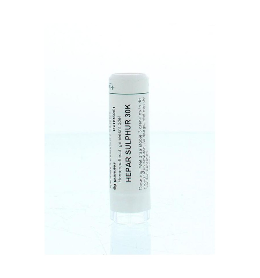 Homeoden Heel Hepar Sulphur 30K 6 gram