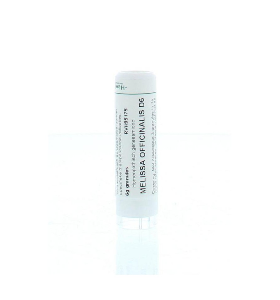 Homeoden Heel Melissa officinalis D6 6 gram