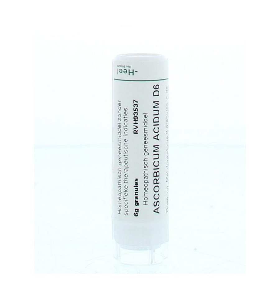 Homeoden Heel Ascorbicum acidum D6 6 gram