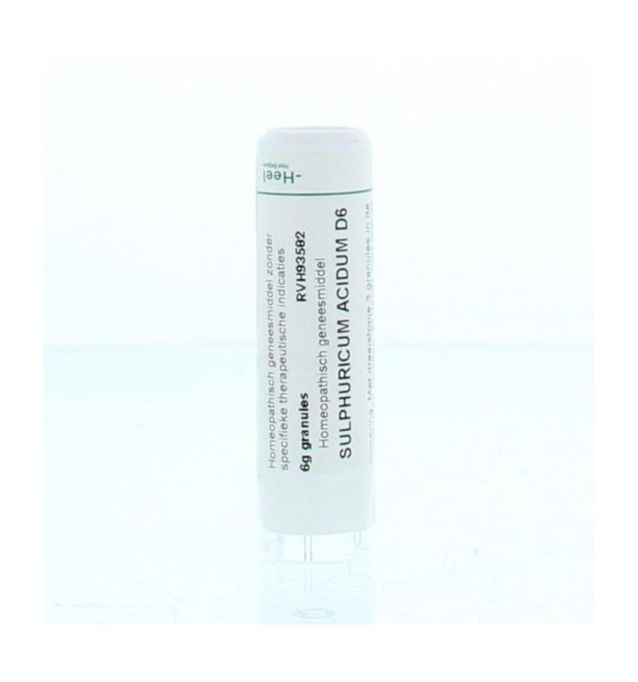 Homeoden Heel Sulphuricum acidum D6 6 gram