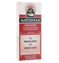 Hoest Natterman Noscasan 20 tabletten kopen