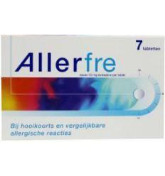 Hooikoorts Allerfre 10 mg 7 tabletten kopen