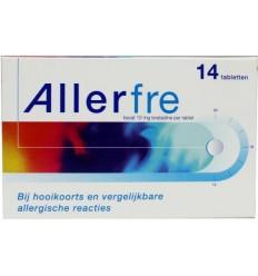 Hooikoorts Allerfre 10 mg 14 tabletten kopen
