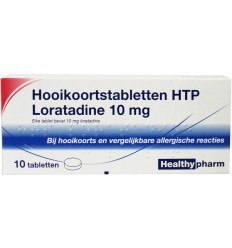 Hooikoorts Healthypharm Loratadine hooikoorts tablet 10