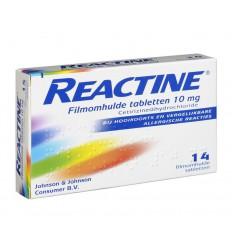 Hooikoorts Reactine Anti histaminicum 10 mg 14 tabletten kopen