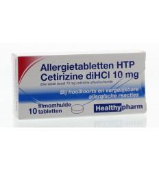 Hooikoorts Healthypharm Cetirizine 10 mg 10 tabletten kopen