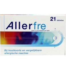Hooikoorts Allerfre 10 mg 21 tabletten kopen
