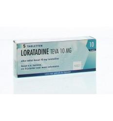 Hooikoorts Pharmachemie Loratadine 10 mg 5 tabletten kopen