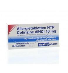 Hooikoorts Healthypharm Cetirizine 10 mg 30 tabletten kopen