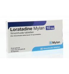 Hooikoorts Mylan Loratadine 10 mg 30 tabletten kopen