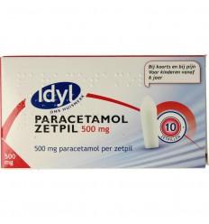 Pijnstillers Idyl Paracetamol 500 mg 10 zetpillen kopen