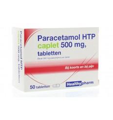 Pijnstillers Healthypharm Paracetamol caplet 500 50 stuks kopen