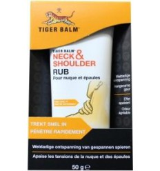 Spierpijn Tijgerbalsem Neck en shoulder rub 50 gram kopen