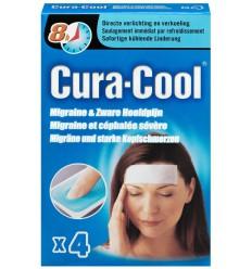 Be Cool Cura-cool migraine strips 4 stuks   Superfoodstore.nl