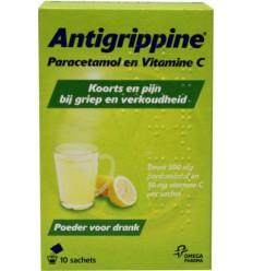 Antigrippine poeder 10 stuks   Superfoodstore.nl