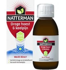 Hoest Natterman Droge hoest & keelpijn 150 ml kopen