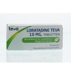 Hooikoorts Teva Loratadine 10 mg 30 tabletten kopen