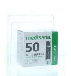 Zelftest Medisana Meditouch 2 teststrips 50 stuks kopen