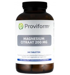 Vitamine B6 Proviform Magnesium citraat 200 mg & B6 240
