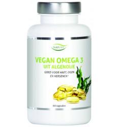 Vetzuren Nutrivian Vegan omega 3 uit algenolie 60 capsules kopen