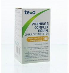 Vitamine B12 Teva Vitamine B complex bruin los 300 tabletten