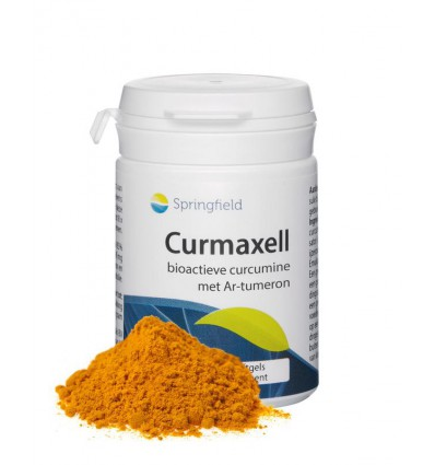 Antioxidanten Springfield Curmaxell bioactieve curcumine 60 softgels kopen