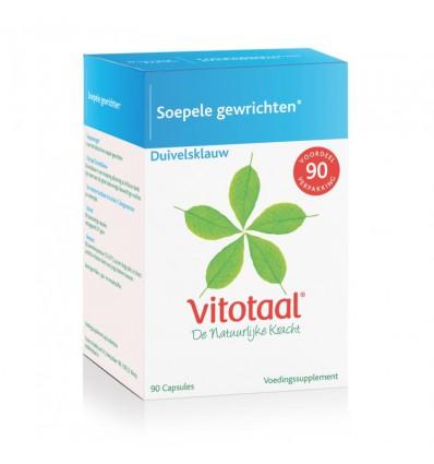 Voedingssupplementen Vitotaal Duivelsklauw 90 capsules kopen