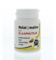 Nachtrust Melatomatine met slaapmutsje 250 tabletten kopen