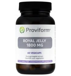 Enzymen Proviform Royal jelly extra sterk 1800 mg 60 vcaps kopen