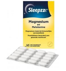 Supplementen Sleepzz melatonine magnesium kopen