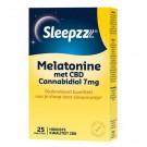 Sleepzz Melatonine met CBD 7 mg 25 tabletten