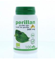Supplementen Soria Perillan perilla olie 500 mg 100 capsules