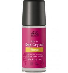 Deodorant Urtekram Deodorant crystal roll on rozen 50 ml kopen