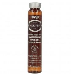 Overig haar Hask Keratin protein smoothing shine haarolie 18 ml