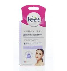 Ontharingsmiddelen Veet Minima wasstrip gezicht 20 stuks kopen