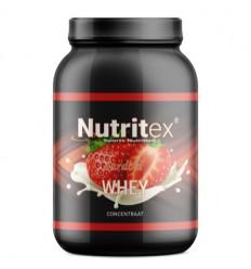 Sportvoeding Nutritex Whey proteine aardbei 750 gram kopen