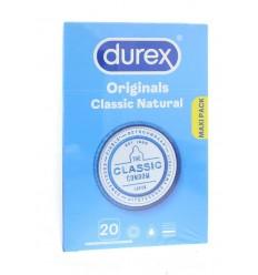 Condooms Durex Classic natural 20 stuks kopen