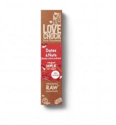 Chocolade Lovechock M'lk dates and nuts 40 gram kopen