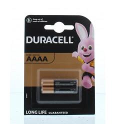 Batterijen Duracell Ultra MX 2500 AAAA 2 stuks kopen