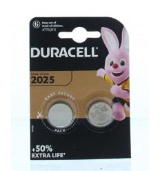 Batterijen Duracell Batterij 2025 2 stuks kopen