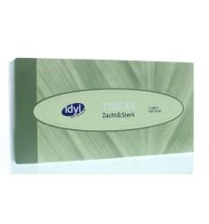 Tissues & Toiletpapier Idyl Tissuebox 3-laags zacht & sterk 100