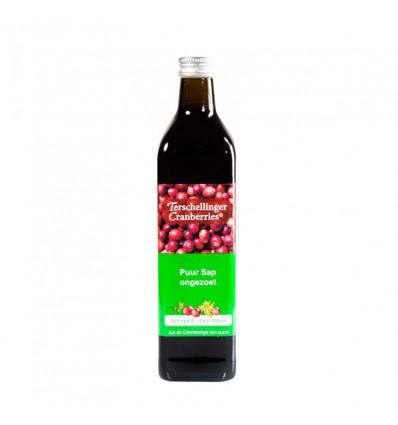 Cranberrysap Terschellinger ongezoet 750 ml kopen
