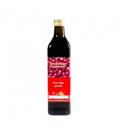 Cranberrysap Terschellinger gezoet 750 ml kopen