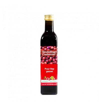 Cranberrysap Terschellinger gezoet 500 ml kopen
