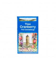Thee Terschellinger Cranberry thee 20 zakjes kopen
