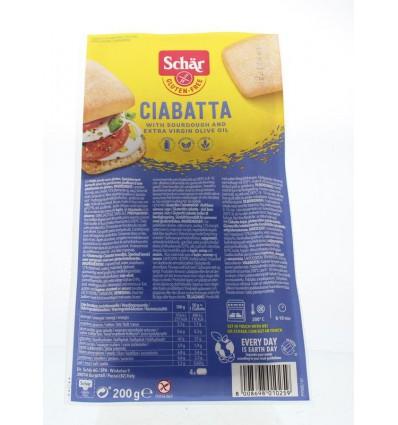 Brood Schär Ciabatta 4 stuks kopen